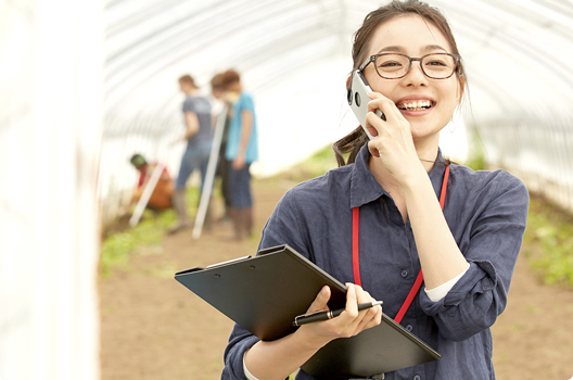 生産と消費の現場をつなげる♥ 小売支援サービス